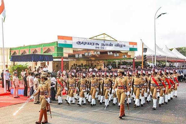 In Republic Day celebrations No Cultural Activities - Sakshi