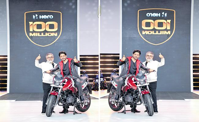 Hero MotoCorp crosses 100-mn milestone in cumulative production - Sakshi