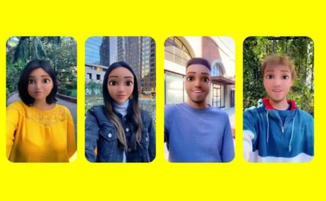 Try Cartoon Face Filters On Snapchat and Instagram - Sakshi