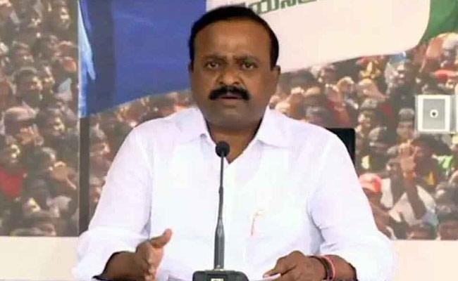 YSRCP MP Balasouri Comments On SEC Nimmagadda Ramesh - Sakshi