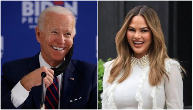 Joe Biden Following Model Chrissy Teigen POTUS On Twitter - Sakshi