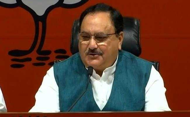 JP Nadda Said In BJP Common Worker Became Prime Minister - Sakshi