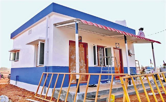 AP Constructs 54056 TIDCO Houses In 69 Cities - Sakshi