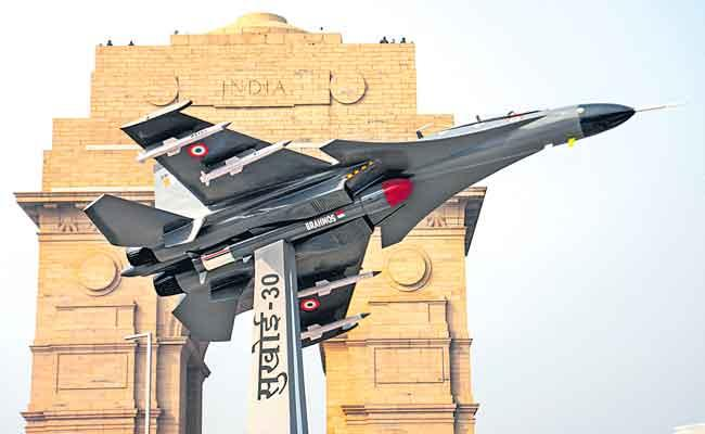 Republic Day Celebration 2021 Rafale Special Attraction - Sakshi