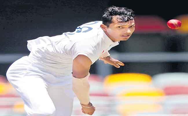 Navdeep Saini Recalls How He Battled Pain To Bowl At Gabba Test - Sakshi