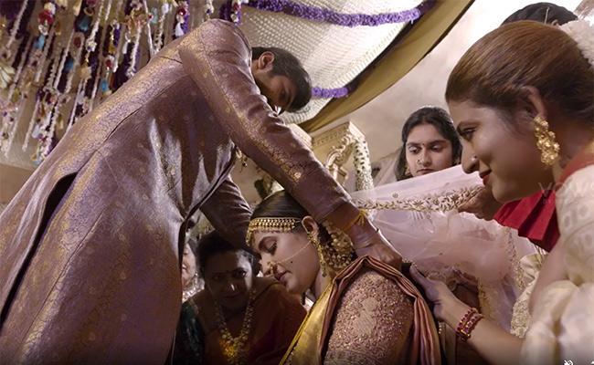 Niharika Gets Emotional While Reading Chaitanya Letter On Wedding - Sakshi
