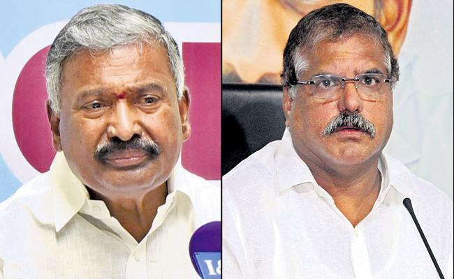 Peddireddy And Botsa Satyanarayana Comments On Panchayat Elections - Sakshi