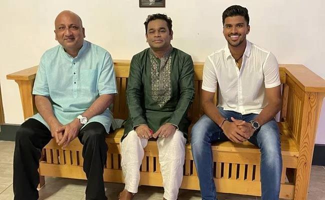 Cricketer Washington Sundar Shares Pictures With AR Rahman Became Viral - Sakshi