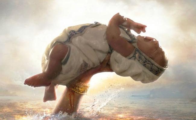 Bahubali Baby Girl Photos Goes Viral On Social Media - Sakshi