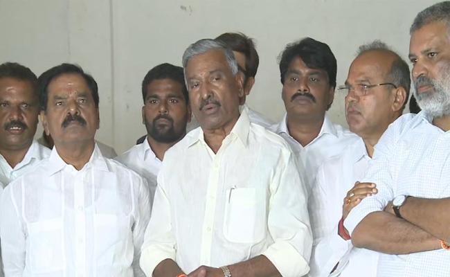 Minister Peddireddy Comments On Sec Nimmagadda Ramesh - Sakshi