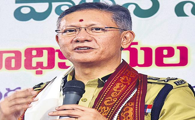 Gautam Sawang Comments On Security Of Temples - Sakshi