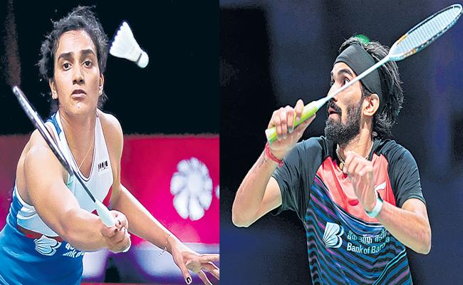 PV Sindhu and Kidambi Srikanth suffer losses BWF Tour Finals - Sakshi