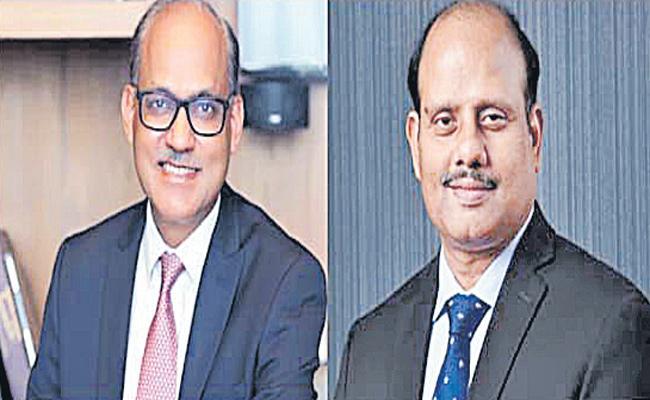 Swaminathan J and Ashwini Kumar Tewari take charge as SBI directors - Sakshi