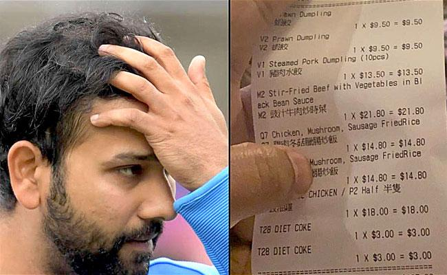 Rohit Sharma Gets Consumed Into Beef Controversy - Sakshi