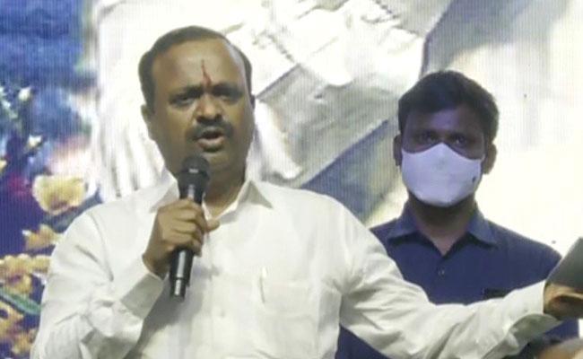 YSRCP MP Balasouri Talk On Land Distribution In Krishna District - Sakshi