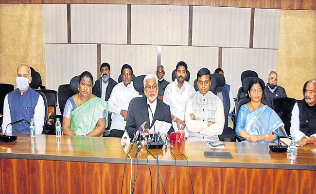 YSR Congress Party Proposes Amendment To Presidents Speech Says Vijayasai Reddy - Sakshi