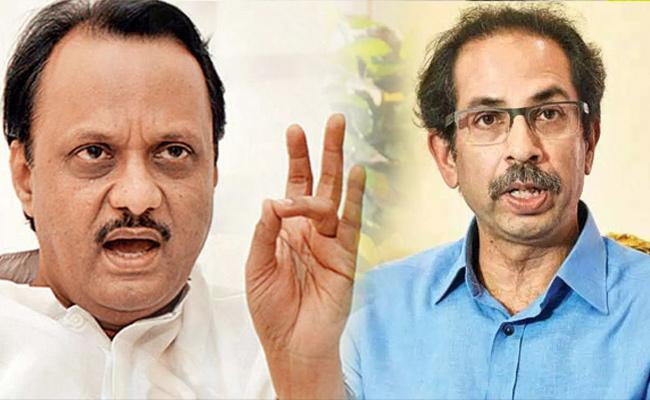 Words Between Shiv Sena And NCP Over Name Change In Mumbai - Sakshi