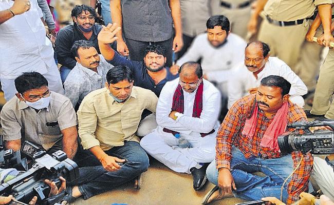 Chalo Rama Theertham: Somu Veerraju Arrested In Nellimarla - Sakshi
