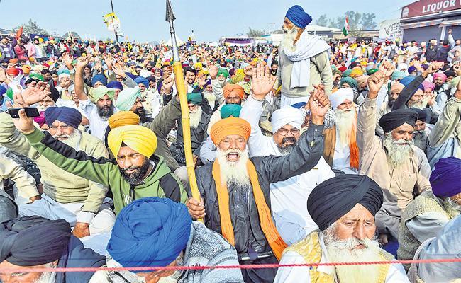 Kancha Ilaiah Guest Column On Punjab Farmers Protest Against Farming Laws - Sakshi