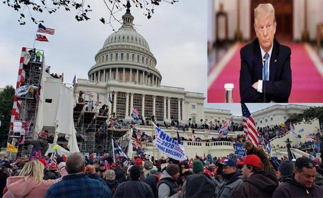 Reports Cabinet Members Discussing Trump Removal Capitol Attack - Sakshi