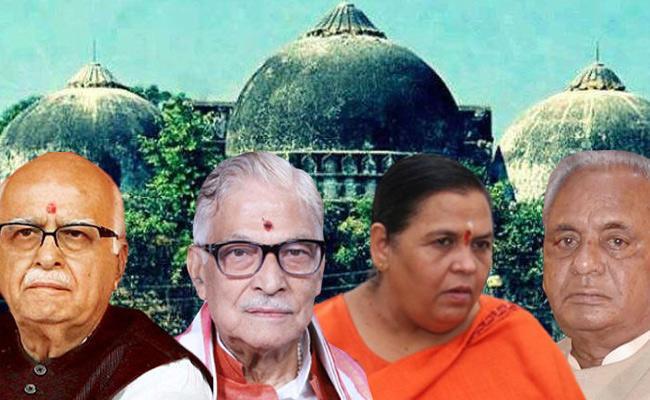 Ayodhya Men Challenging Acquittals In Babri Masjid Case - Sakshi