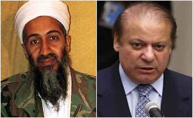 Osama Bin Laden funded Nawaz Sharif - Sakshi