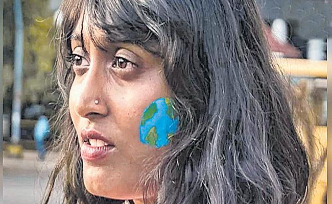 Delhi Police Arrest Disha Ravi - Sakshi