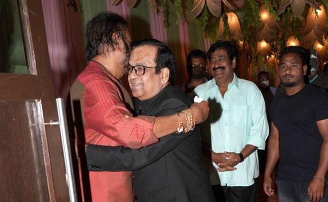 Ravi Teja, Brahmanandam At Raghu Babu Daughter Engagement - Sakshi