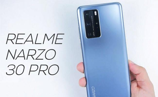 Realme Narzo 30 Pro 5G and Realme Narzo 30A Launch on February 24 - Sakshi