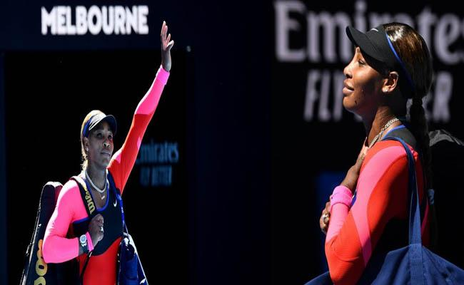 Australian Open Semi Finals 2021, Serena Williams Tearful Exit from Press Conference - Sakshi