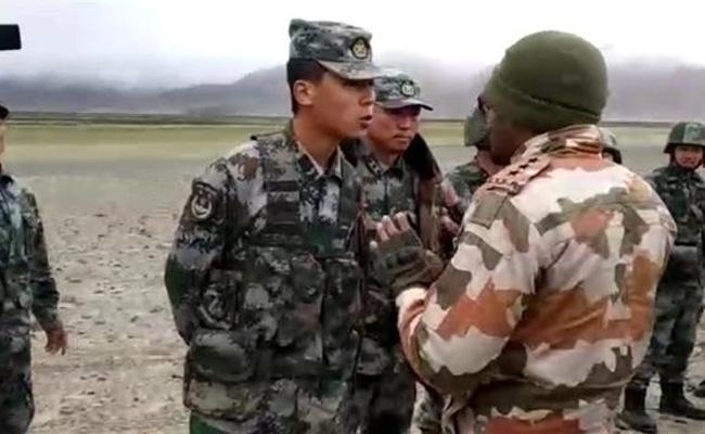 China First Time Reveals Details Soldiers Demise Galwan Valley June 2020 - Sakshi