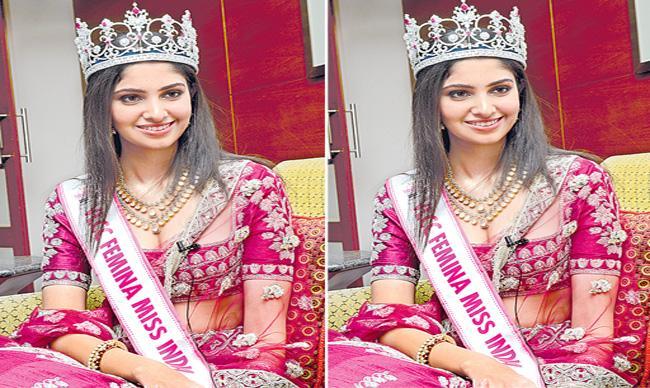 Sakshi Interview With Femina Miss India World 2020 Manasa Varanasi