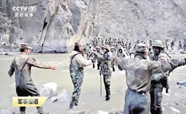 China Admits Four PLA Soldiers Killed in Galwan Valley - Sakshi