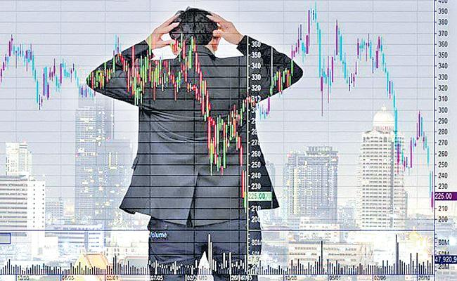 Sensex Ends at 9-day Low And Below 51,000, Nifty Below 15,000 - Sakshi