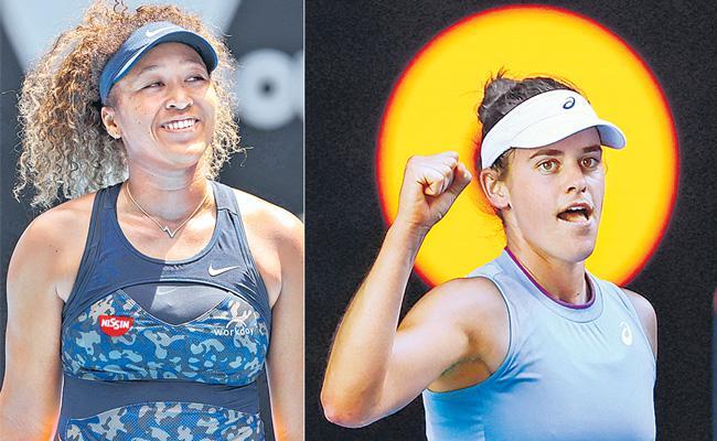 Naomi Osaka faces a talented Jennifer Brady in an Australian Open final - Sakshi