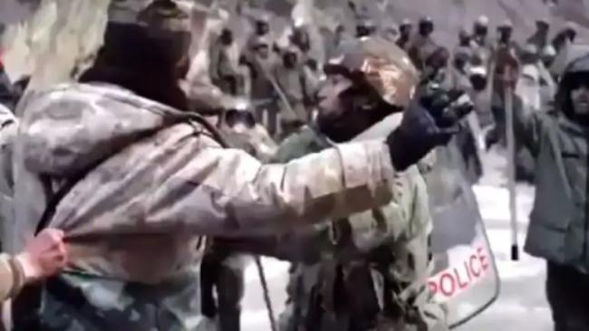 China Releases Clash Video After Admitting to Deaths in Galwan - Sakshi