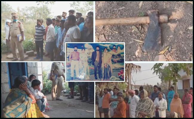 Husband Murders Wife In Jagtial - Sakshi