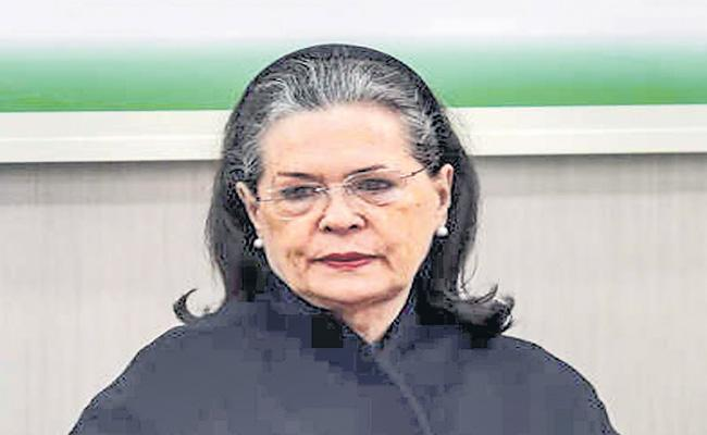 Sonia Gandhi writes to PM, Demands Rollback of High Fuel Prices - Sakshi