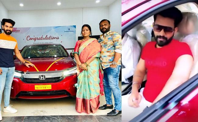 Bigg Boss 4 Telugu: Akhil Sarthak Buys New Car - Sakshi