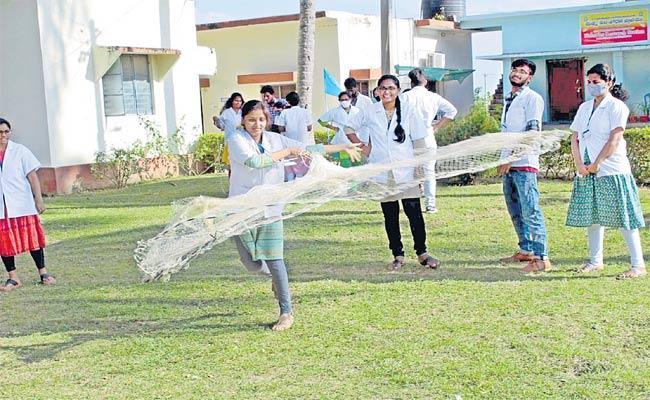 Diverse Training At PV NarasimhaRao Fisheries Research Center - Sakshi