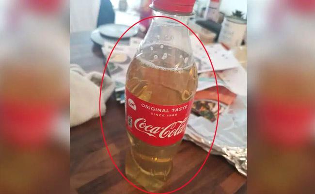 Viral Photo: Man Gets Bottle Of Urine In Food Order In UK - Sakshi