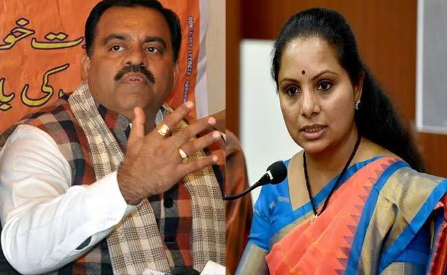 BJP Incharge Tarun Chugh Fires On Kavitha And KCR - Sakshi