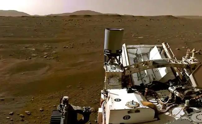 Nasa Released Perseverance Rover landing Video on Mars - Sakshi