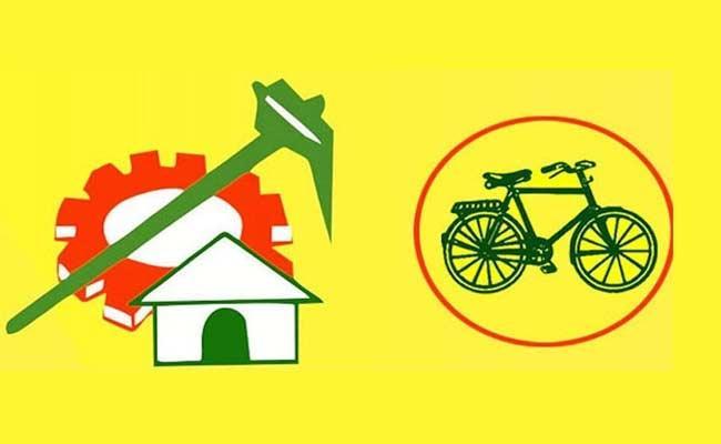TDP Defeat In MLA Gadde Rammohan Rao Own village - Sakshi
