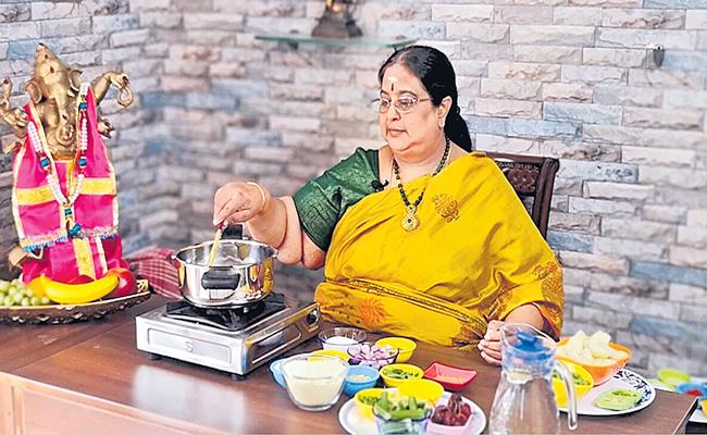 Sakshi Special Story About Celebrity Chef Yogambal Sundar