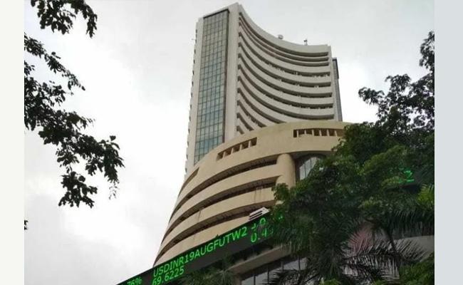 Sensex Ends Flat, Nifty Holds 14700 - Sakshi
