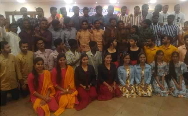 Twins Gather Together Through Whats App Group In Visakhapatnam - Sakshi