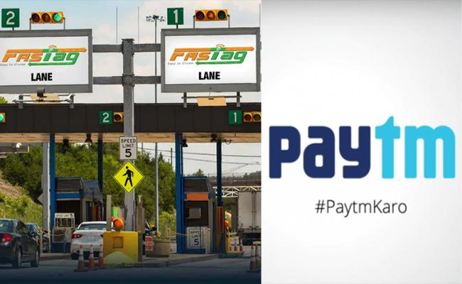 Paytm Payments Bank Refund FASTag Users if Extra Toll Charges Cut - Sakshi