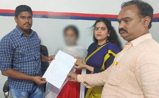 Karate Kalyani Supports Young Girl, Filed Complaint Against Pastor - Sakshi