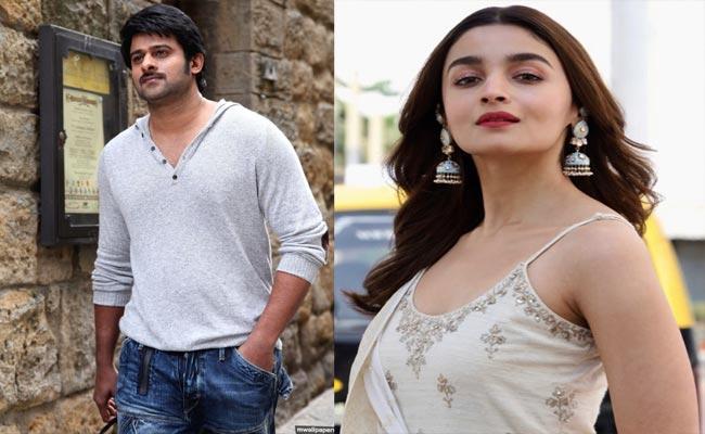 Alia Bhatt Film To Clash With Prabhas Radhe Shyam - Sakshi